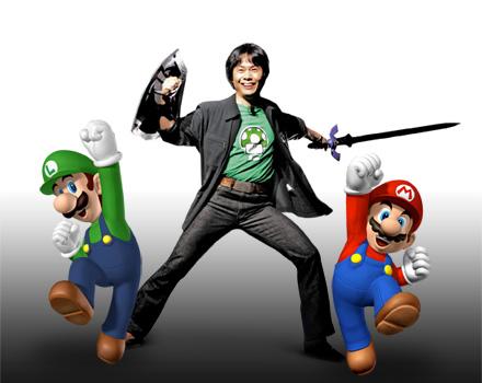 Mario & Luigi & Miyamoto